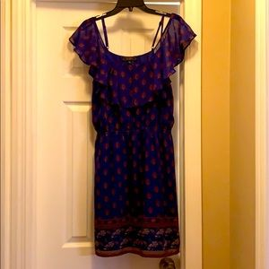 Gently Used, JESSICA SIMPSON Gorgeous Navy Dress💙